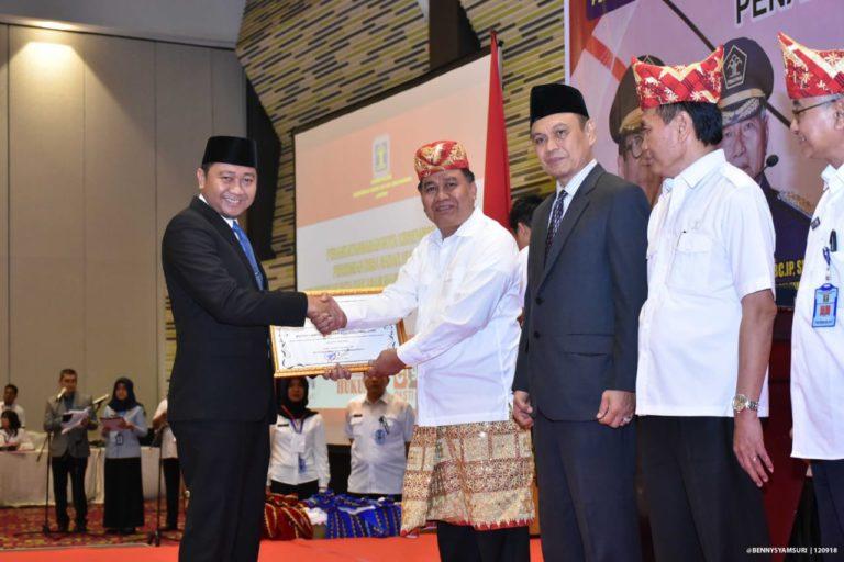 Pemkab Lampura Kembali Mendapatkan Apresiasi Penghargaan dari Pemerintah Pusat