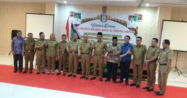 Wagub Berbagi Ilmu Harmonis dengan Wakil Kepala Daerah Se-Lampung