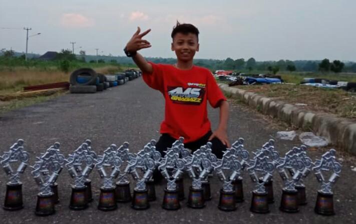 Pembalap Cilik dari SMP Waskita Bekri Ingin Jadi Juara Nasional