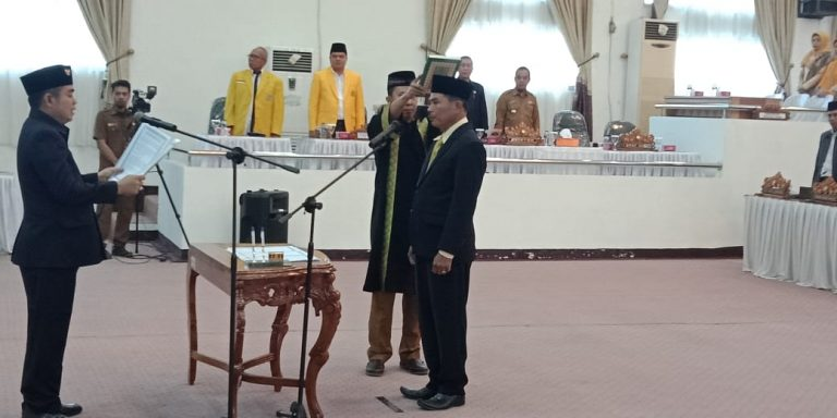 DPRD Lamteng Gelar Paripurna PAW Anggota Masa Jabatan 2014-2019