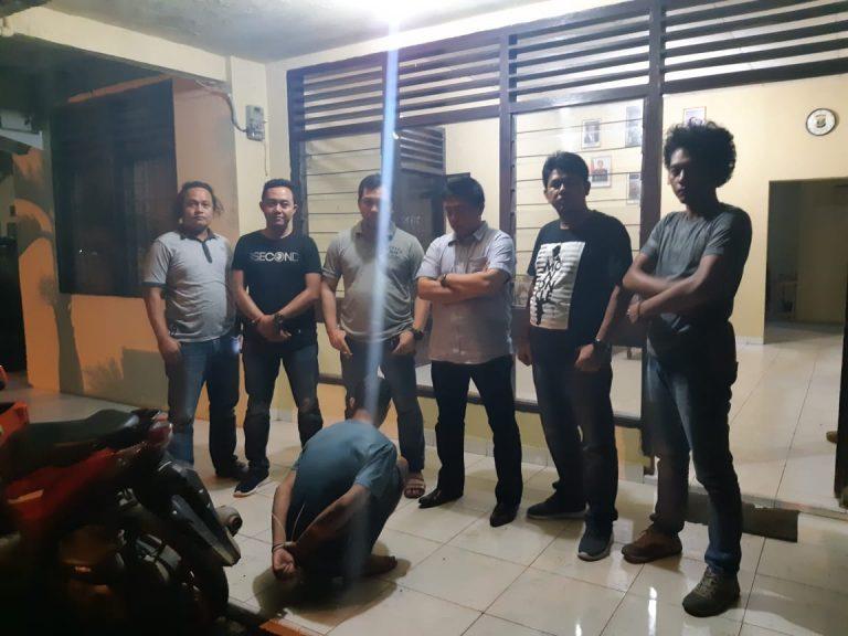 Pegawai Honor Pemkab Pringsewu Ditangkap Maling HP