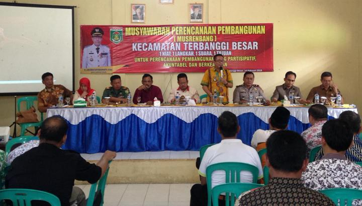 Anggota DPRD Lamteng Hadiri Musrenbang Kecamatan Terbanggi Besar