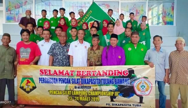 25 Atlet Wakili Tulang Bawang Dalam Championship III/2019 Kejuaraan Pencak Silat Tingkat Nasional