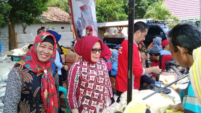 Gelar Pasar Murah di Punggur, Pemkab Lamteng Sediakan 4000 Paket Sembako Untuk Masyarakat