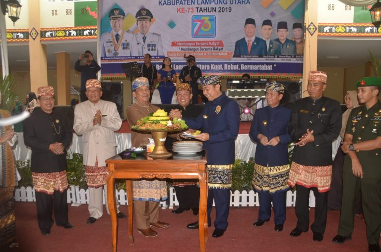 DPRD dan Pemkab Gelar Paripurna HUT Lampung Utara ke 73