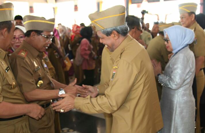 Pemkab Lamteng Gelar Halal Bihalal Idul Fitri 1440 H di Nuwo Balak