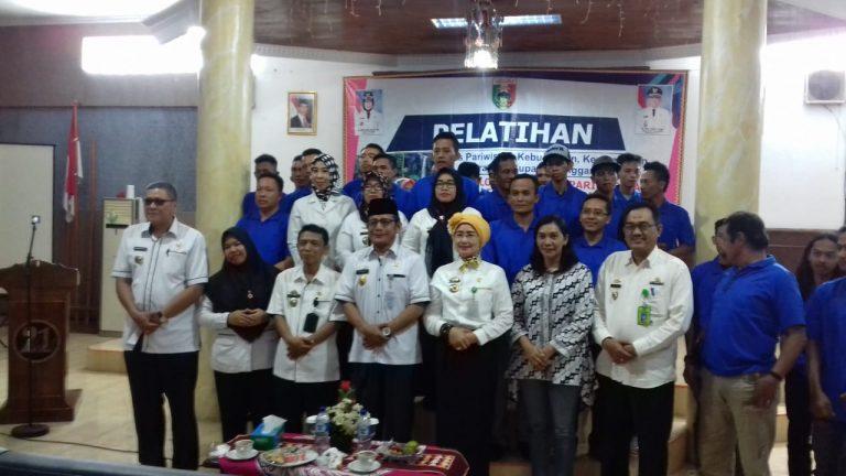 Disparbudpora Tanggamus Gelar Pelatihan Tata Kelola Destinasi Pelayanan Kepariwisataan