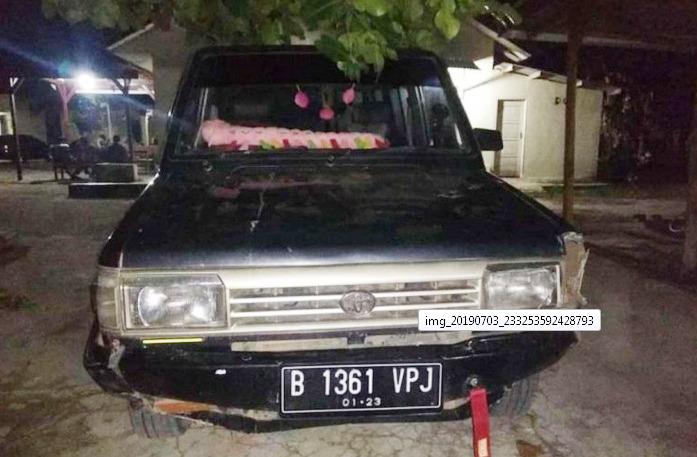 Tabrak Lari Dua Sepeda Motor di Tubaba, Pengemudi Minibus Ditangkap Polisi