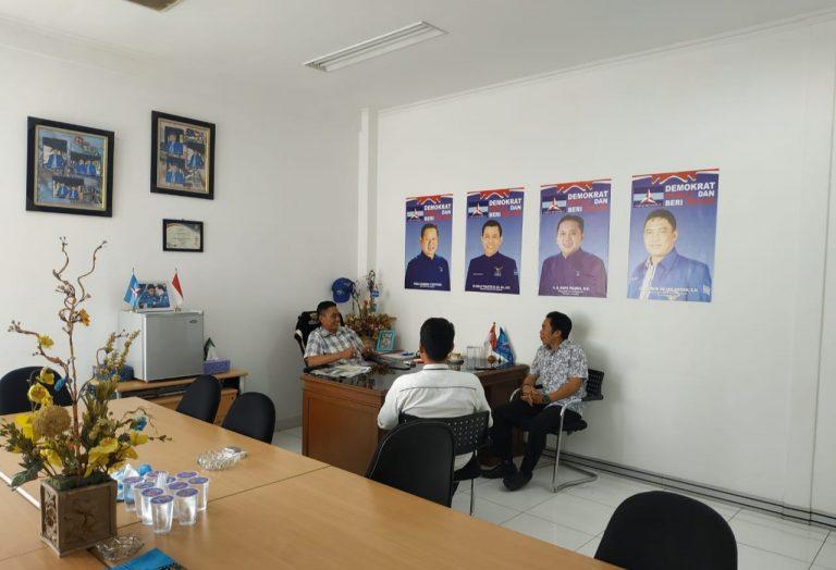 Intelkam Polda Lampung Bersilaturahmi Dengan Tokoh Politik Lampung Fajrun