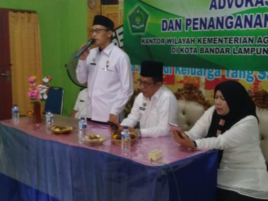 Kemenag Provinsi Lampung Gelar Advokasi Penanganan Konflik