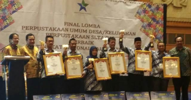 Kabupaten Lambar Sabet Juara Harapan 1 Lomba Perpustakaan Tingkat Nasional
