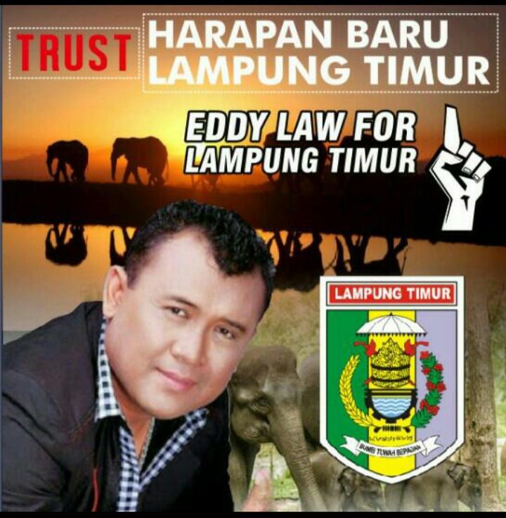 Eddy Law Bakal Calon Bupati Lampung Timur, Sosialisasi Ke Metro Kibang