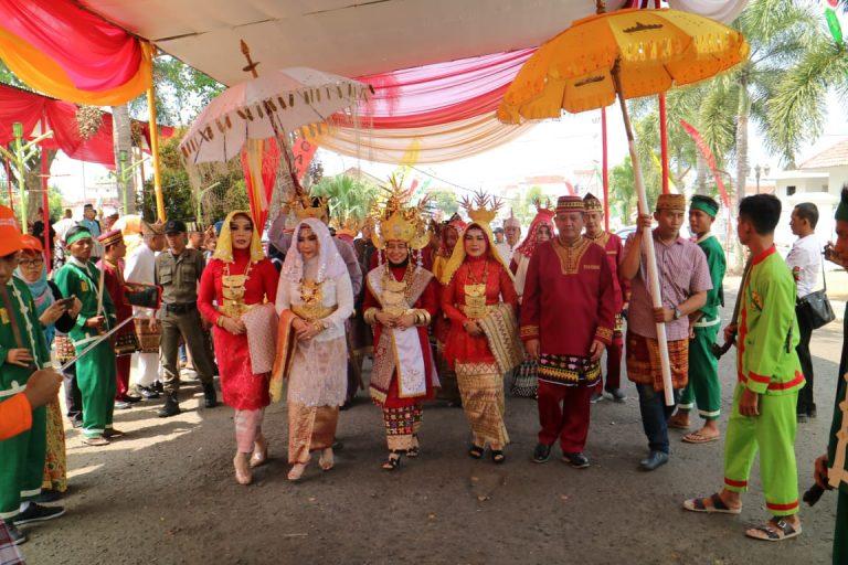 Disparbudpora Menggelar Pangan Agung di Tamkot Kota Agung