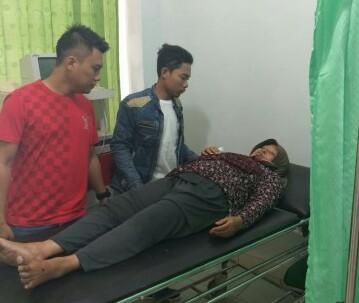 Sukarni Dilarikan Ke Rumah Sakit YMC Lamteng