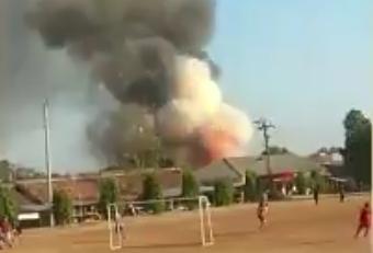 Gudang Penyimpanan Bahan Peledak di Mako Brimob Srondol Meledak