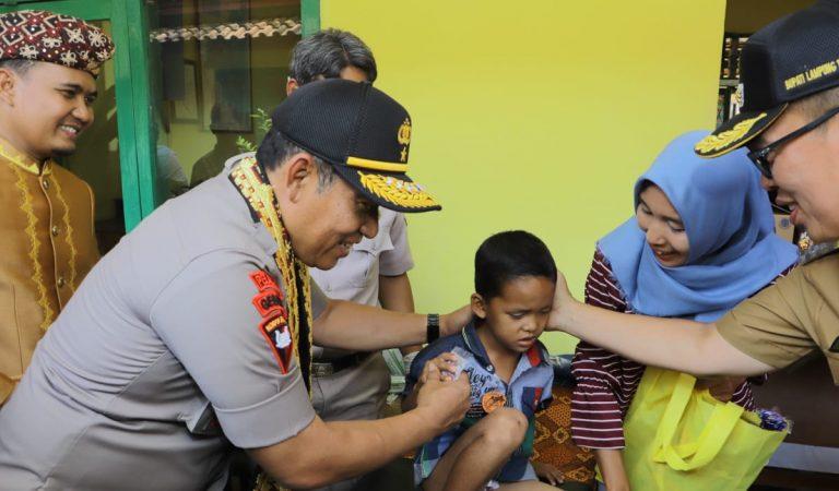 Polda Lampung Peduli Kesehatan di Lampung Timur