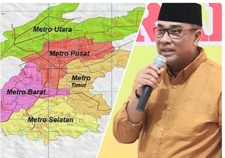 Andi Surya : Wujudkan Konsep MC-Hub (Metro City Hub) di Kota Metro