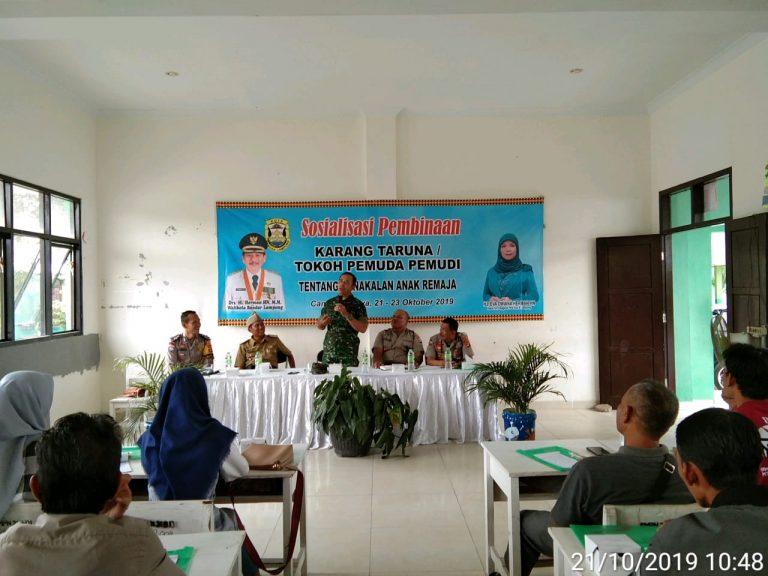 Danramil 410-04/TKT Mayor Inf Sutoto Berikan Materi Tentang Wawasan Kebangsaan
