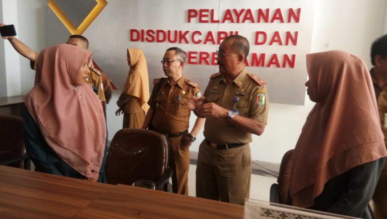 Usai Rakor Forum, Para Kadisdukcapil Kunjungan ke MPP Tulang Bawang