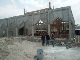 SMAN 1 Terusan Nunyai Lampung Tengah Bangun Masjid