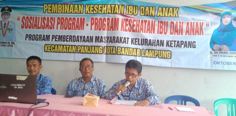 Pemkot Balam Bina Kesehatan Ibu dan Anak di Kelurahan Ketapang