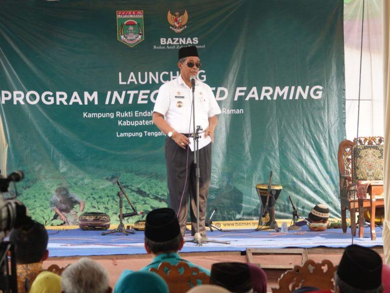 Hadiri Launching Integrated Farming BAZNAS, Ini Kata Bupati Loekman