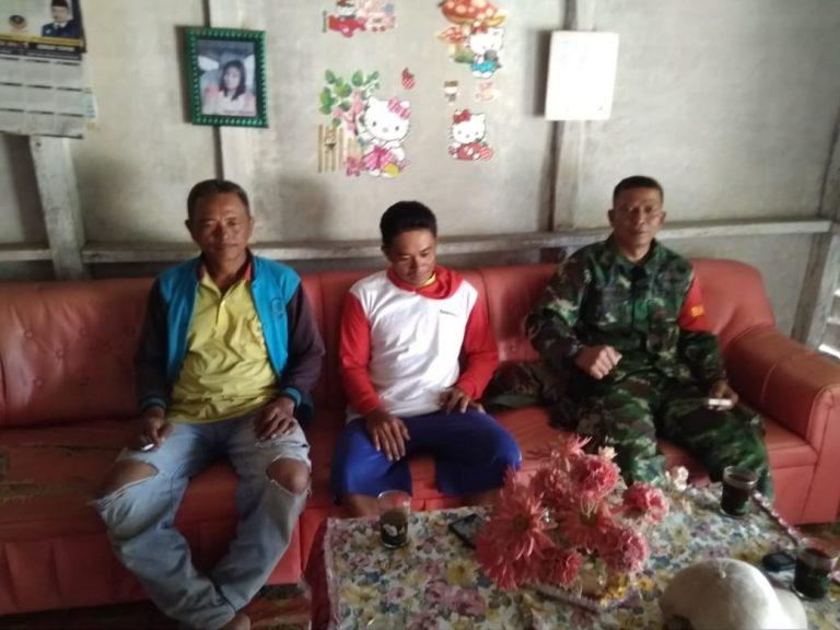Serda Wahyudi Ajak Warga Jaga Keamanan Desa