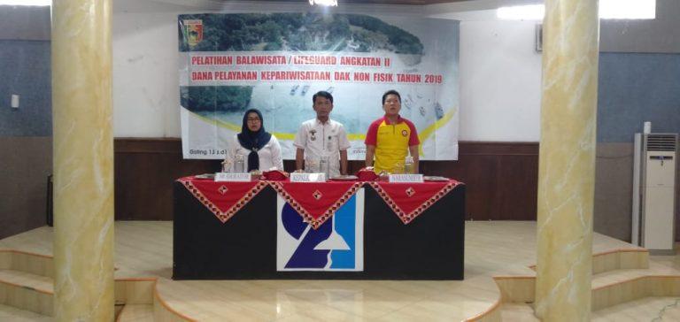 Disparbudpora Gelar Pelatihan Balawista