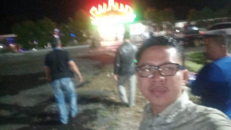 Ketua PWI Atal S Depari tiba di Hotel Le'Man Unit 2 Banjaragung