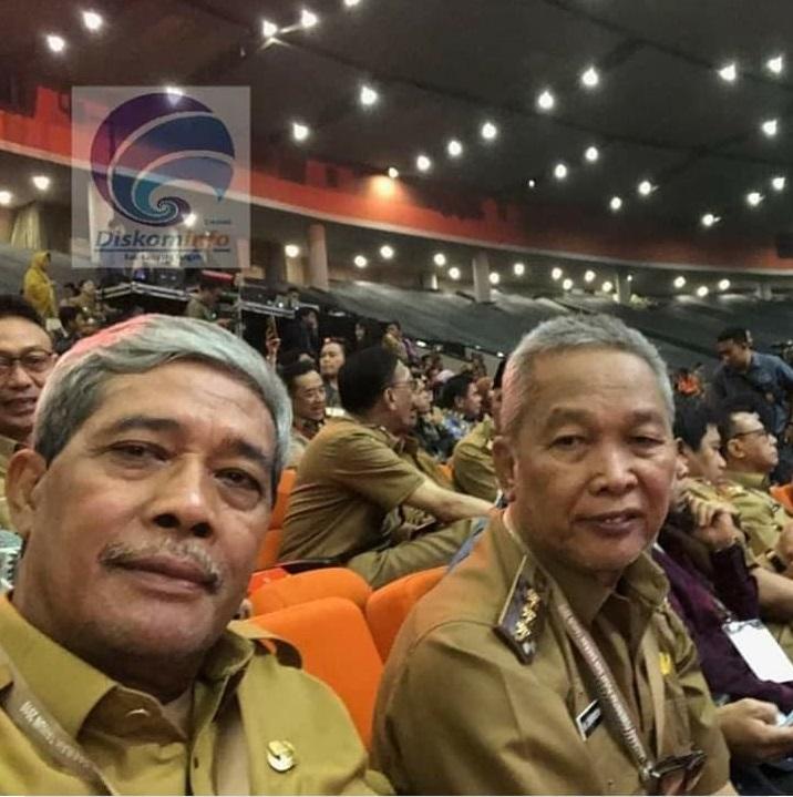 Bupati Loekman dan Forkopimda Lamteng Hadiri Rakornas Indonesia Maju 2019
