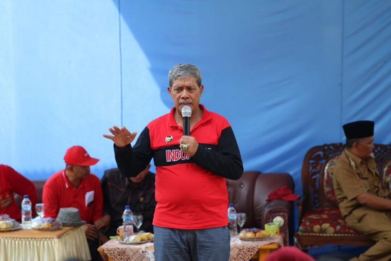 Ini Harapan Bupati Loekman Pada Aparatur Kampung, Linmas, dan Guru di Selagai Lingga
