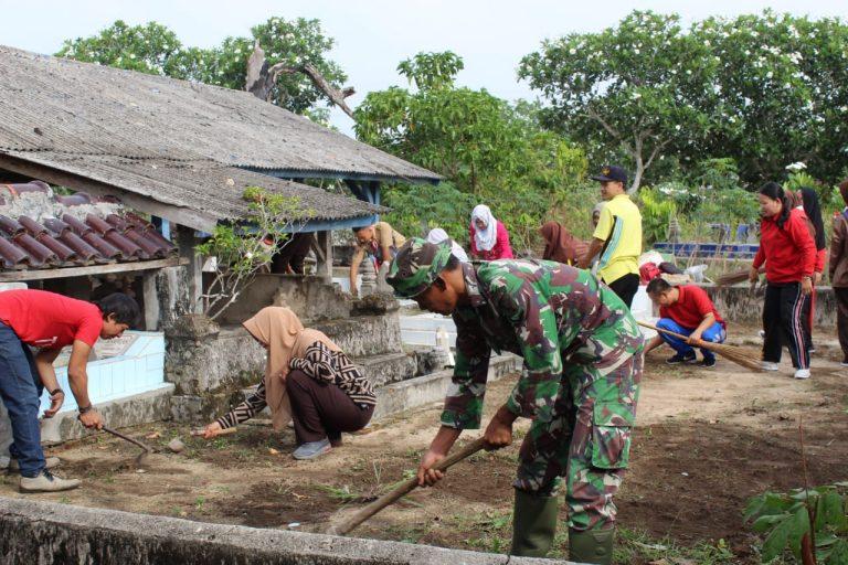 Kodim 0426/TB Melaksanakan Karya Bakti Pembersihan Fasilitas Umum