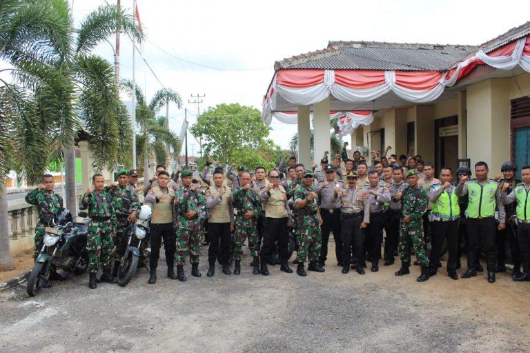 Kodim 0426/TB Gelar Patroli Bersama Polres Tuba Ciptakan Kondisi Aman Jelang Pilkakam Serentak