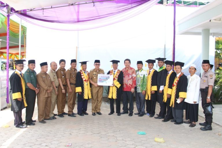 Wakili Danramil 429-11/Sekampung, Pelda Tarsino Hadiri Wisuda STIS