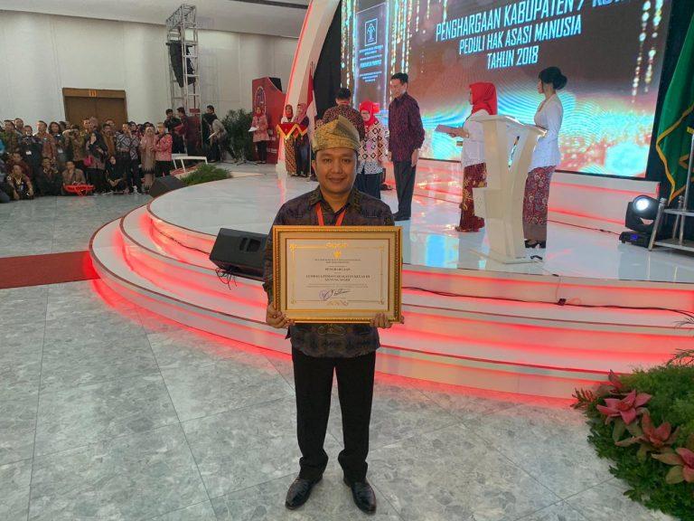 Lapas Gunung Sugih Dua Tahun Berturut-turut Terima Penghargaan Menkumham atas Pelayanan Publik Berbasis HAM