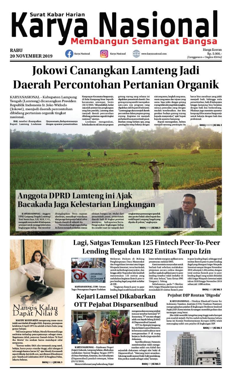 Edisi 20 November 2019