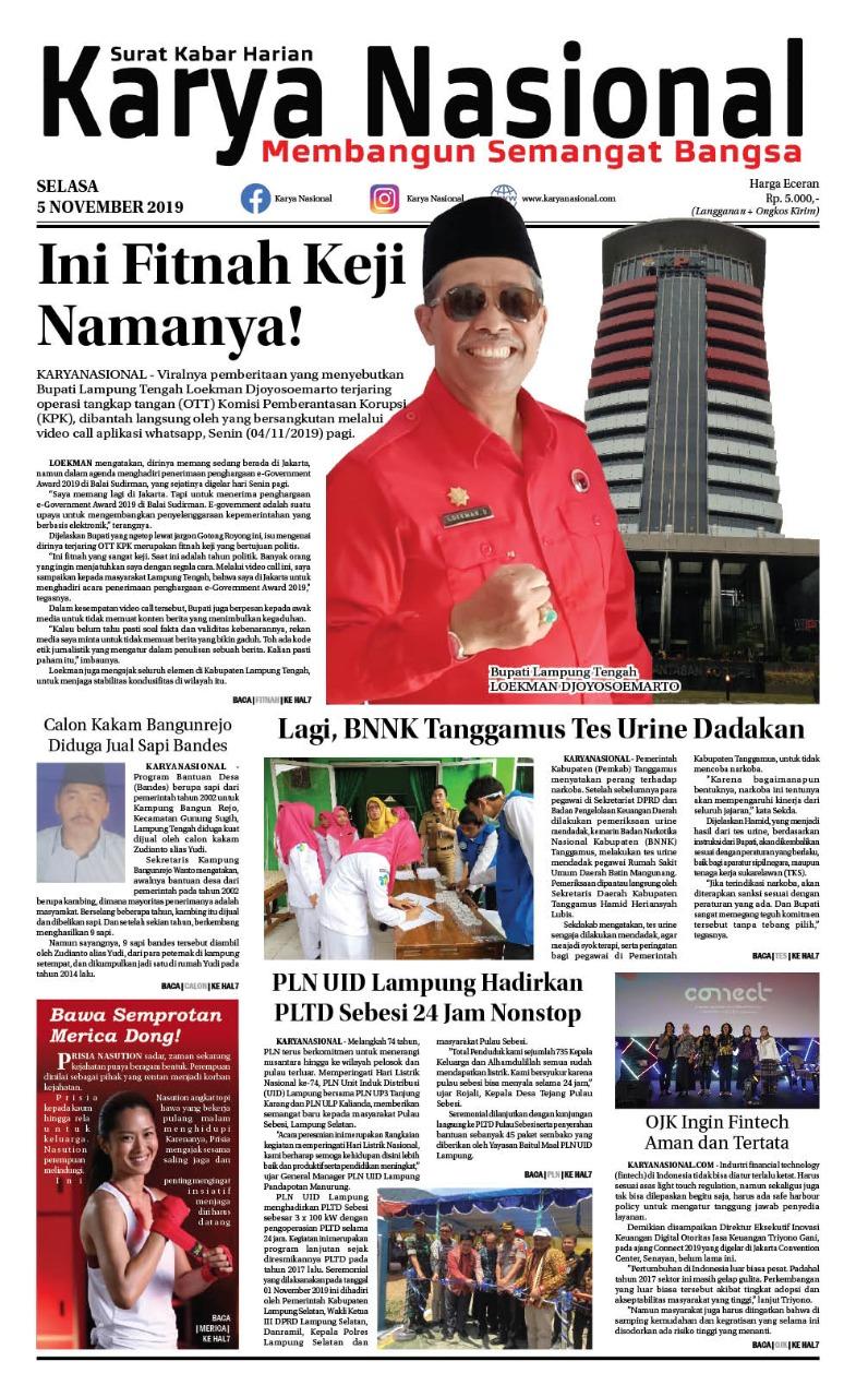 Edisi Selasa 05 November 2019
