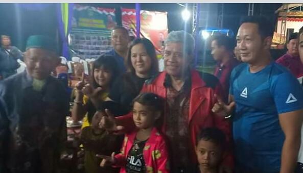 Hadir di HUT Ke 5 Kampung Putra Lempuyang, Ini Pesan Bupati Loekman Pada Masyarakat